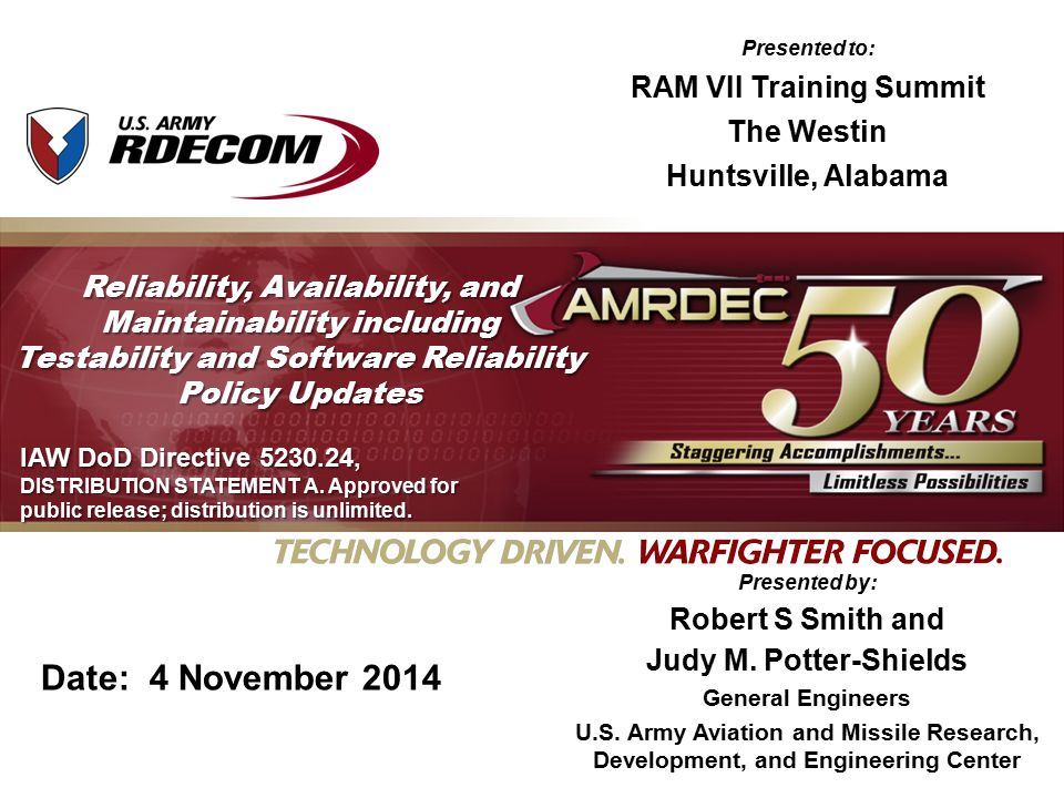 RAM VII Training Summit