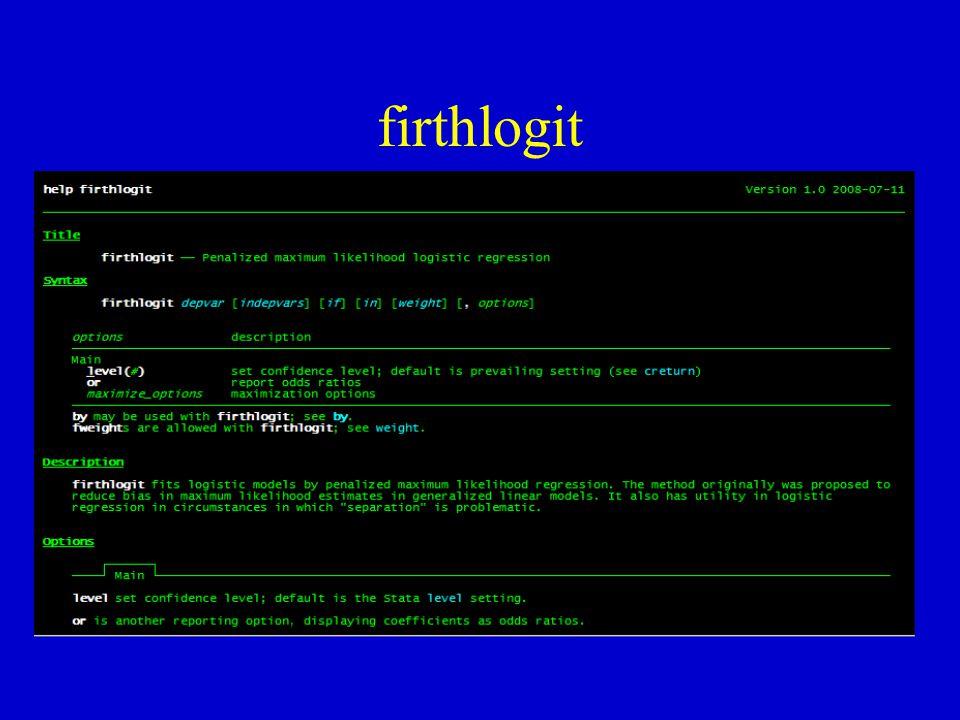firthlogit