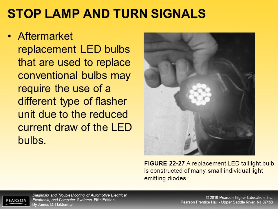 STOP LAMP AND TURN SIGNALS