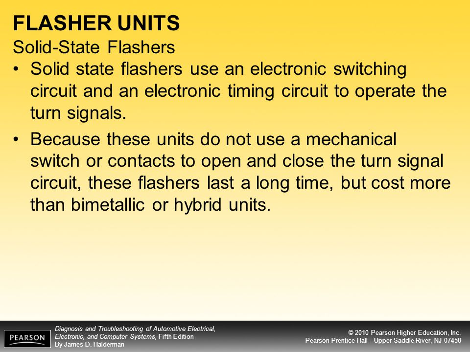FLASHER UNITS Solid-State Flashers