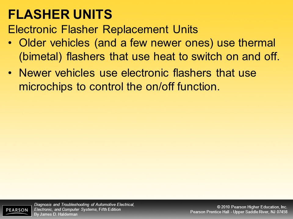 FLASHER UNITS Electronic Flasher Replacement Units