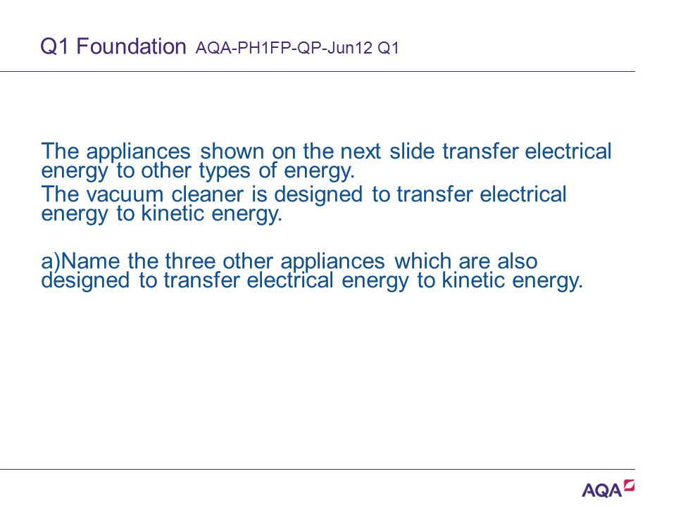 Q1 Foundation AQA-PH1FP-QP-Jun12 Q1