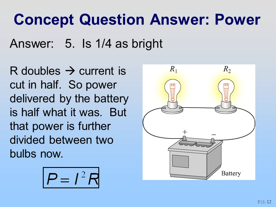 Concept Question Answer: Power