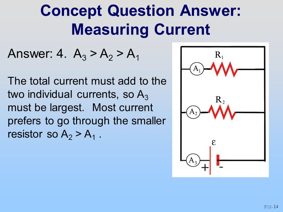Concept Question Answer: Measuring Current