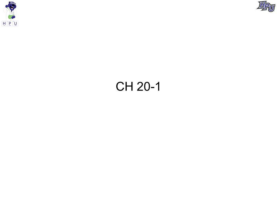 CH 20-1