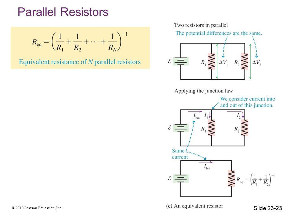 Parallel Resistors Slide 23-23