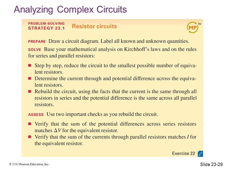 Analyzing Complex Circuits