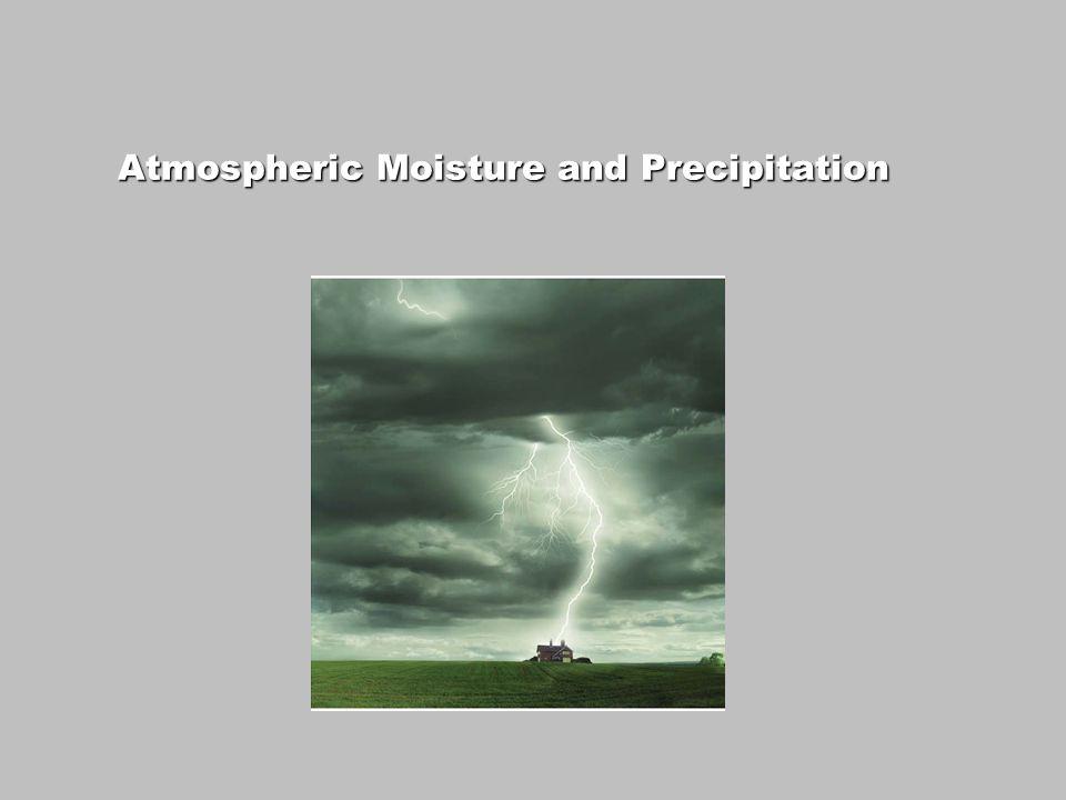 Atmospheric Moisture and Precipitation