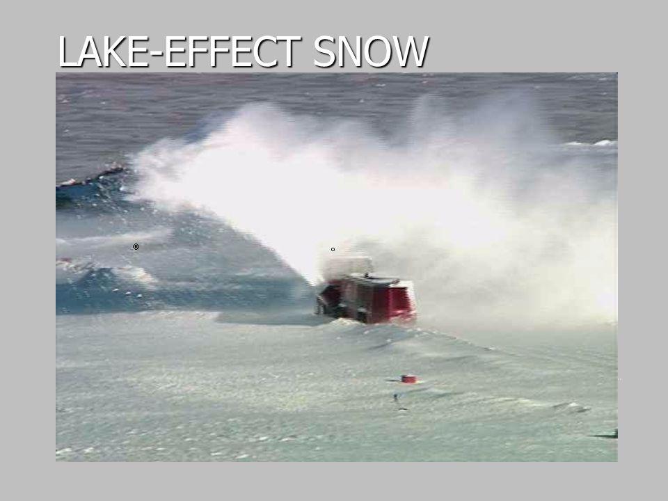 LAKE-EFFECT SNOW