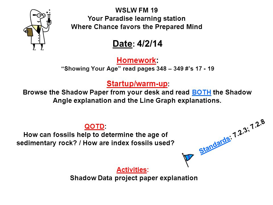 Homework: Showing Your Age read pages 348 – 349 #'s 17 - 19