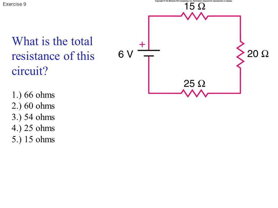 What is the total resistance of this circuit