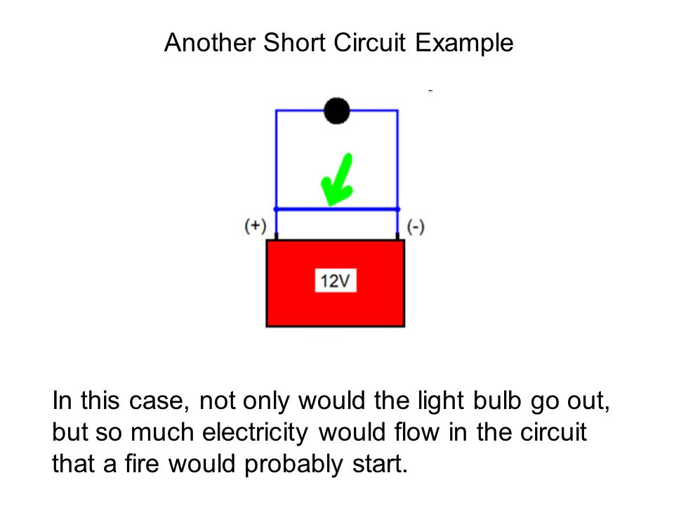 Another Short Circuit Example