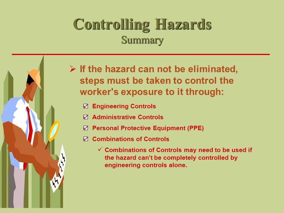 Controlling Hazards Summary