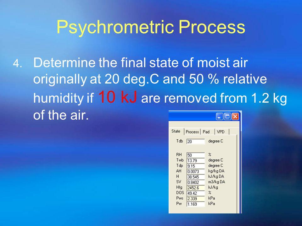 Psychrometric Process