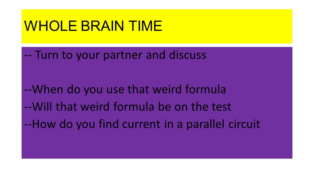 WHOLE BRAIN TIME