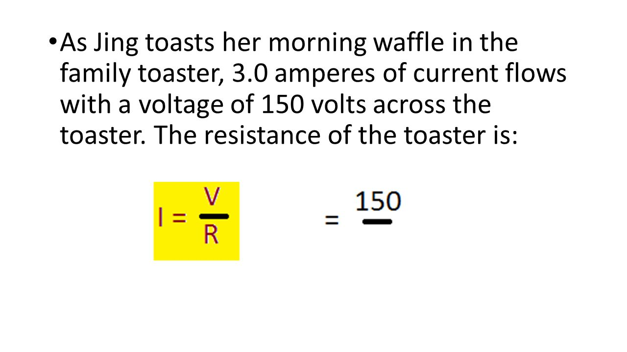 As Jing toasts her morning waffle in the family toaster, 3
