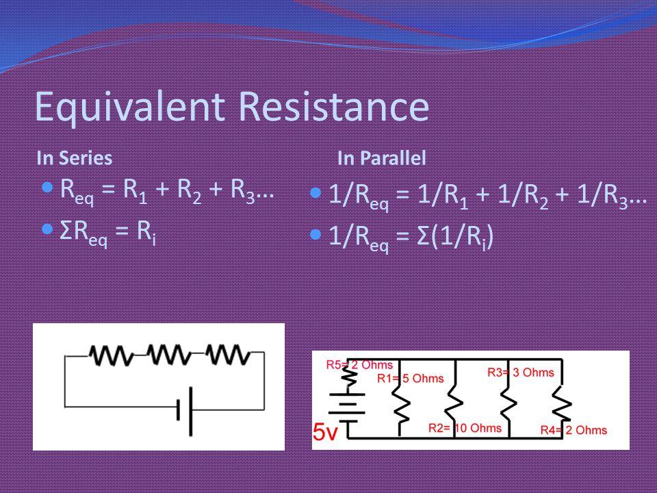 Equivalent Resistance