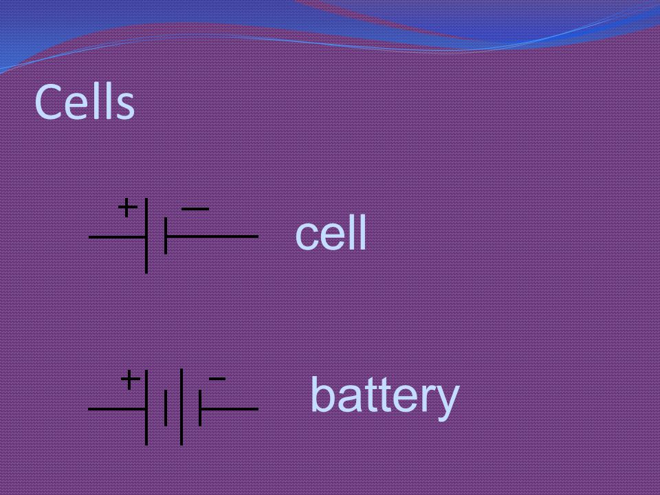 Cells cell battery