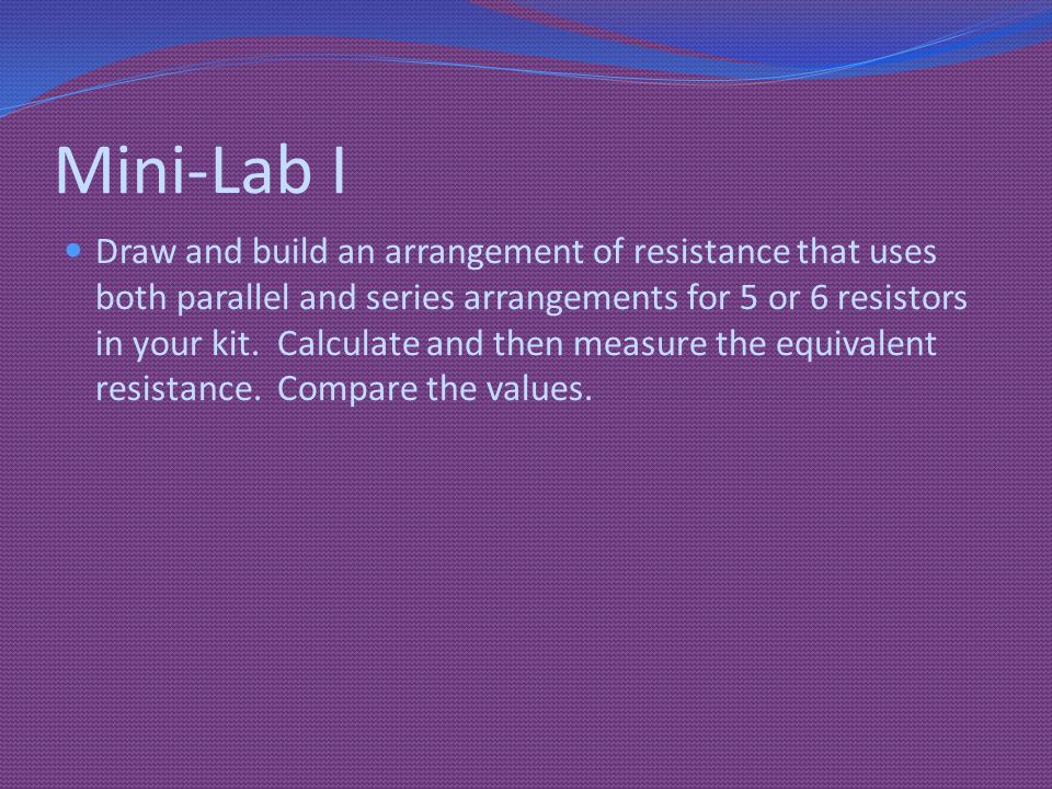 Mini-Lab I