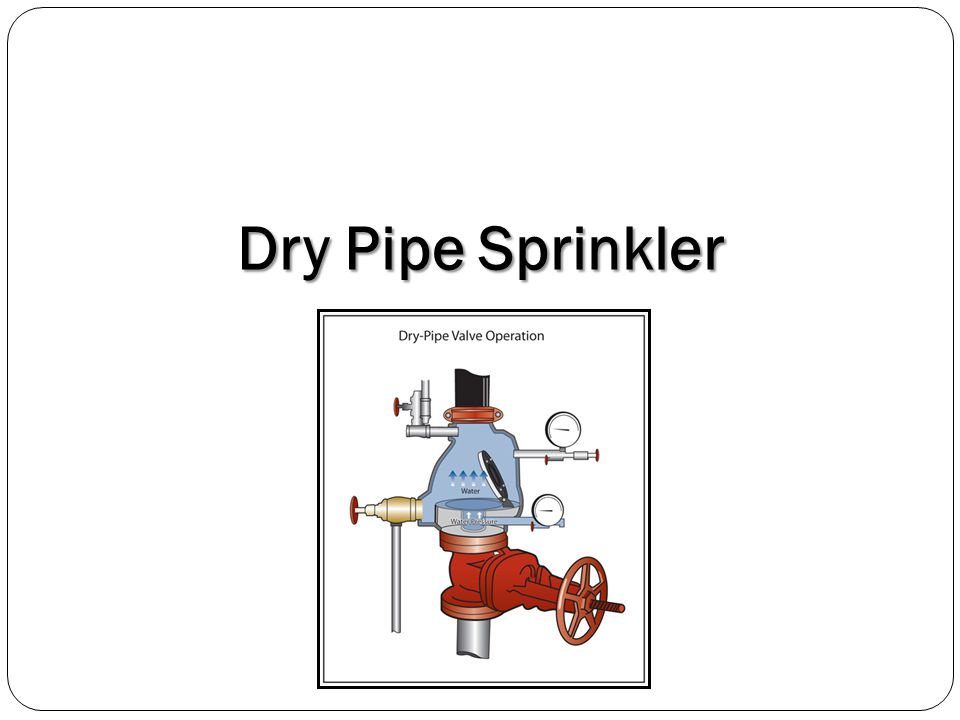 Dry Pipe Sprinkler