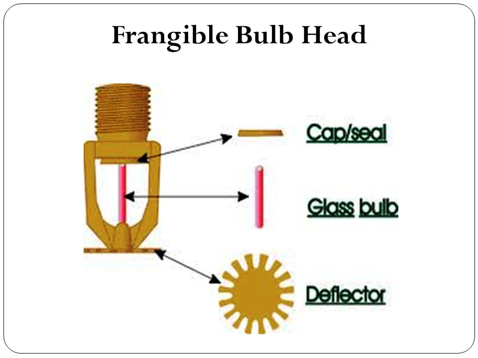 Frangible Bulb Head