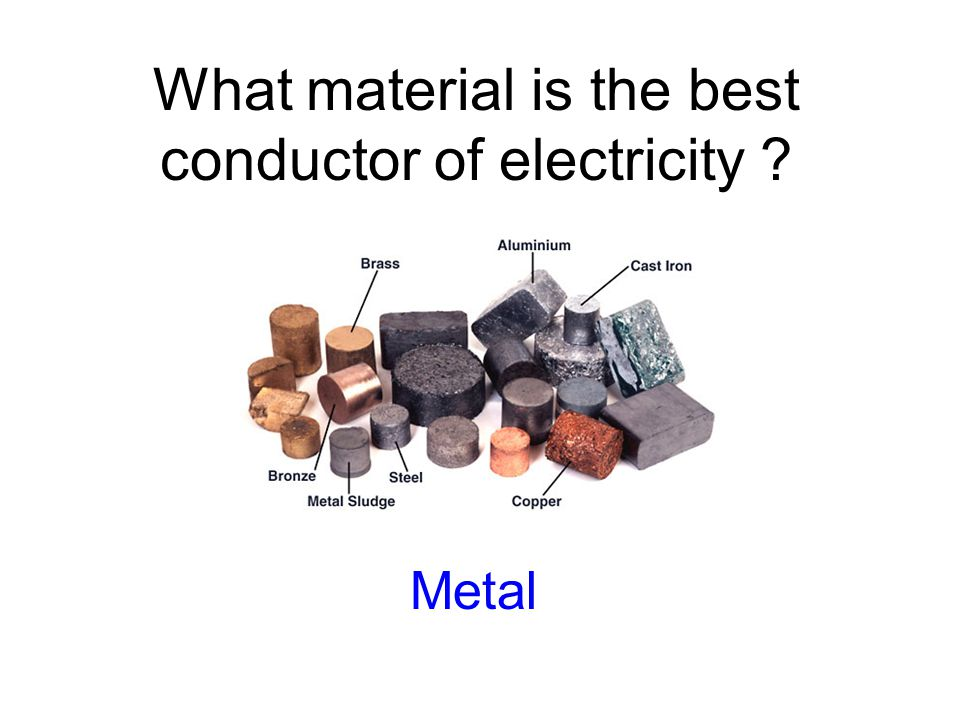What material is the best conductor of electricity