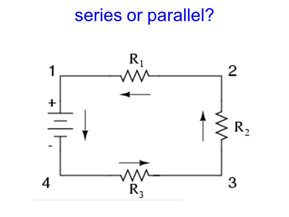 series or parallel