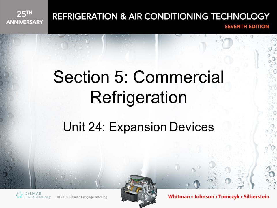Section 5: Commercial Refrigeration