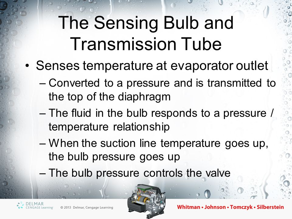 The Sensing Bulb and Transmission Tube