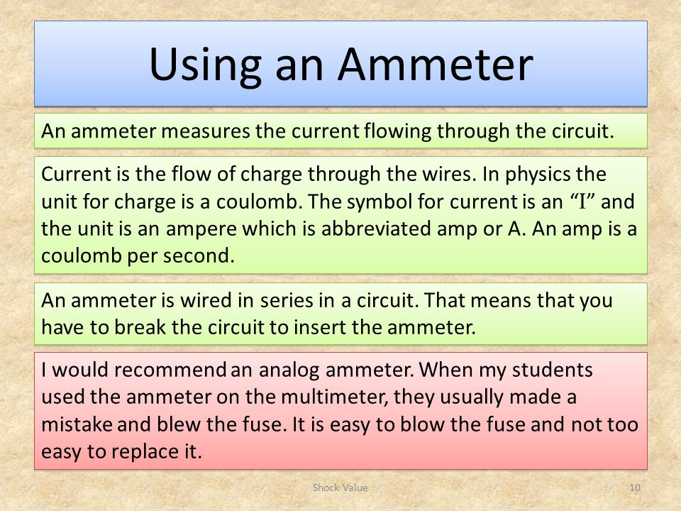 Ammeter For Science : Science olympiad division b ppt video online download
