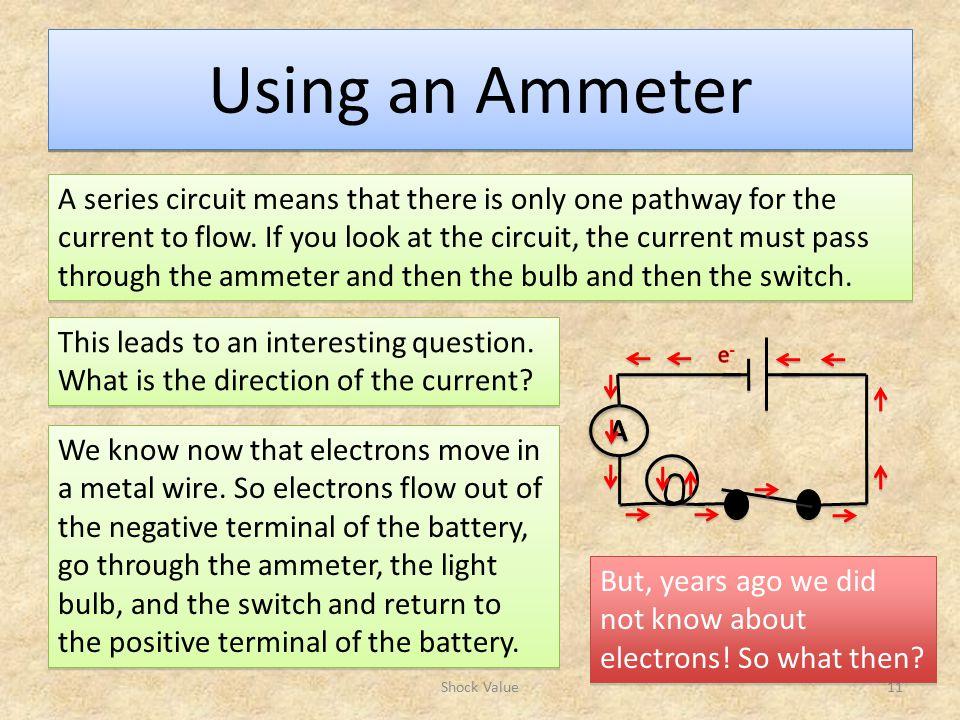 Using an Ammeter