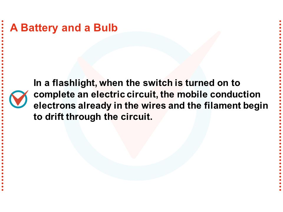A Battery and a Bulb