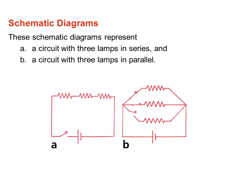 Schematic Diagrams These schematic diagrams represent