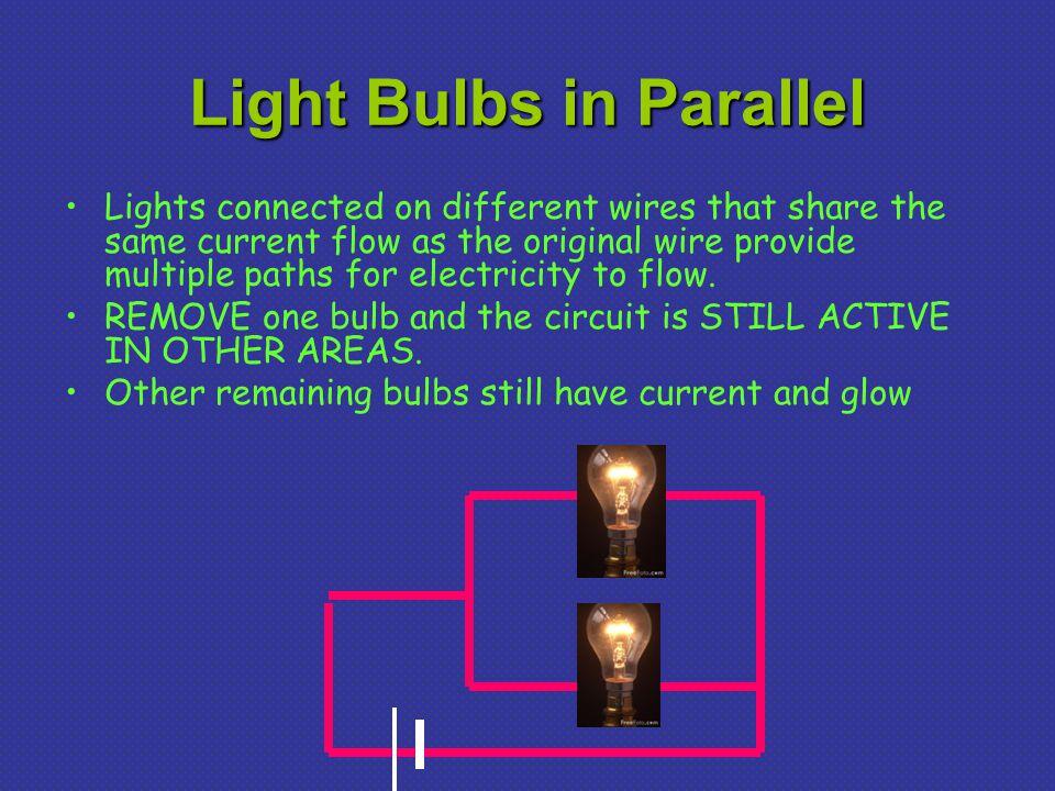 Light Bulbs in Parallel