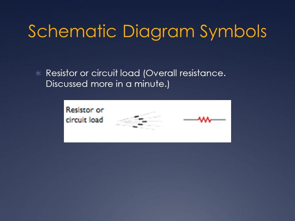 Schematic Diagram Symbols