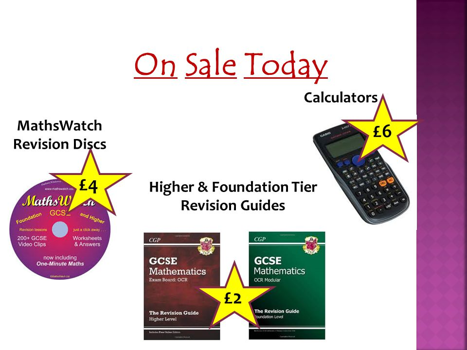 Higher & Foundation Tier Revision Guides