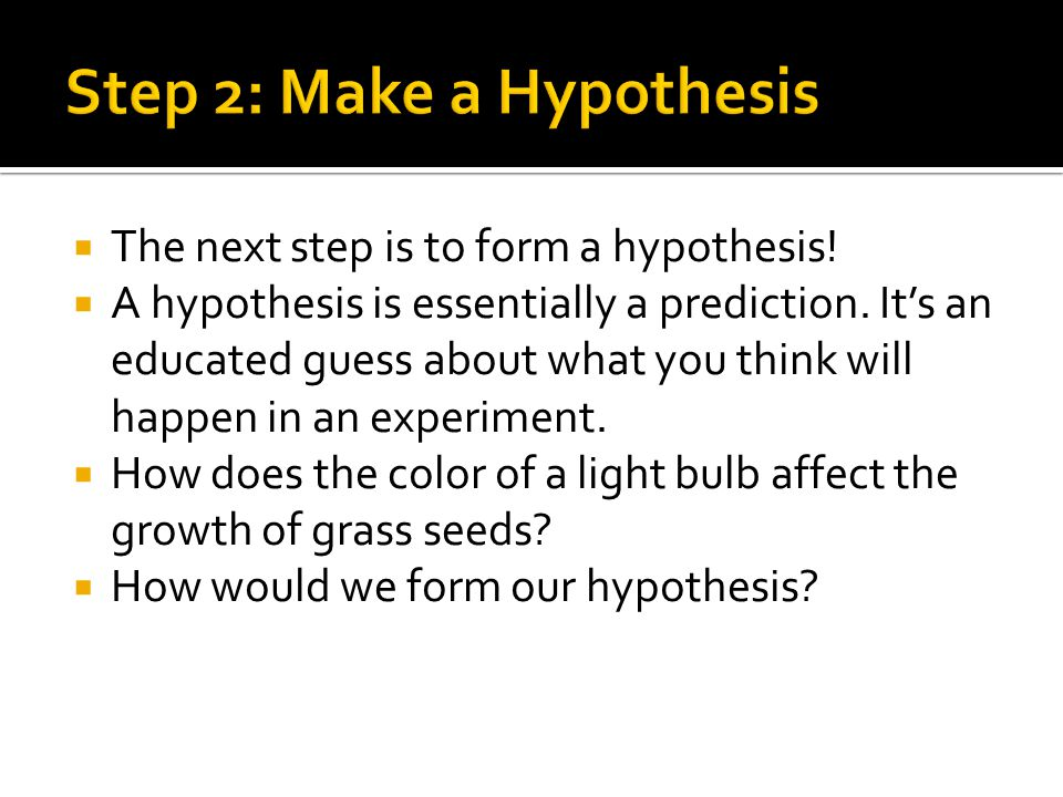 The Scientific Method. - ppt video online download