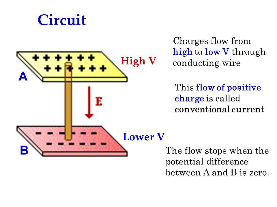Circuit A B High V Lower V