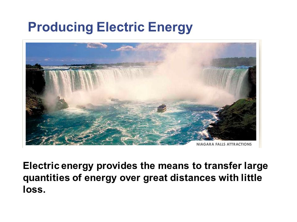 Producing Electric Energy