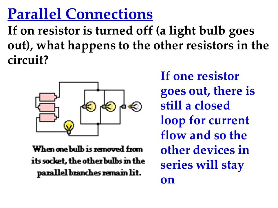 series parallel connection How can the answer be improved.