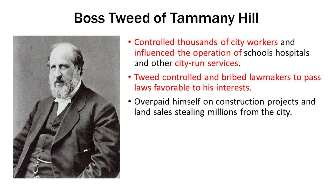 Boss Tweed of Tammany Hill