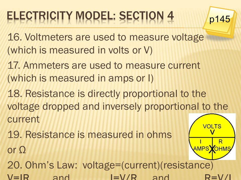 Electricity model: Section 4