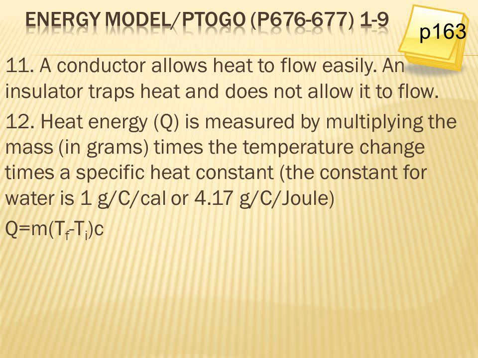 Energy Model/PtoGo (p676-677) 1-9