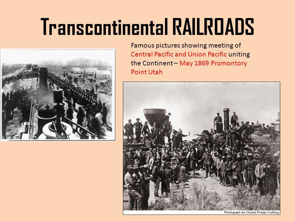 Transcontinental RAILROADS