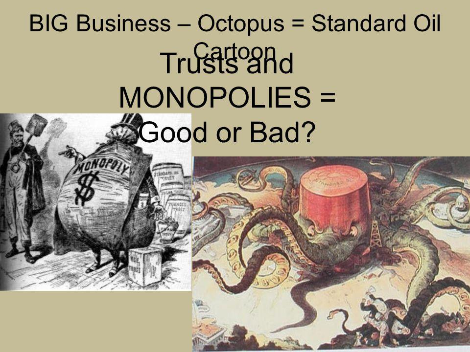 BIG Business – Octopus = Standard Oil Cartoon