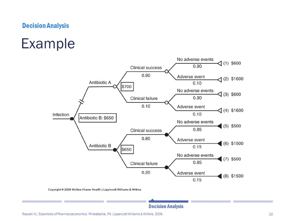 Example Decision Analysis Decision Analysis