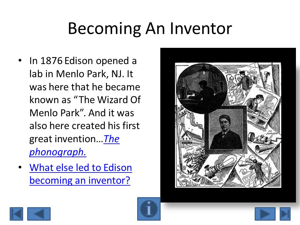 Becoming An Inventor