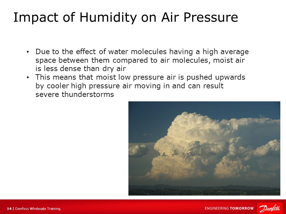 Impact of Humidity on Air Pressure