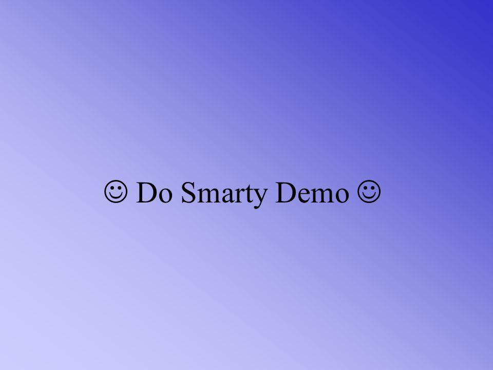  Do Smarty Demo 