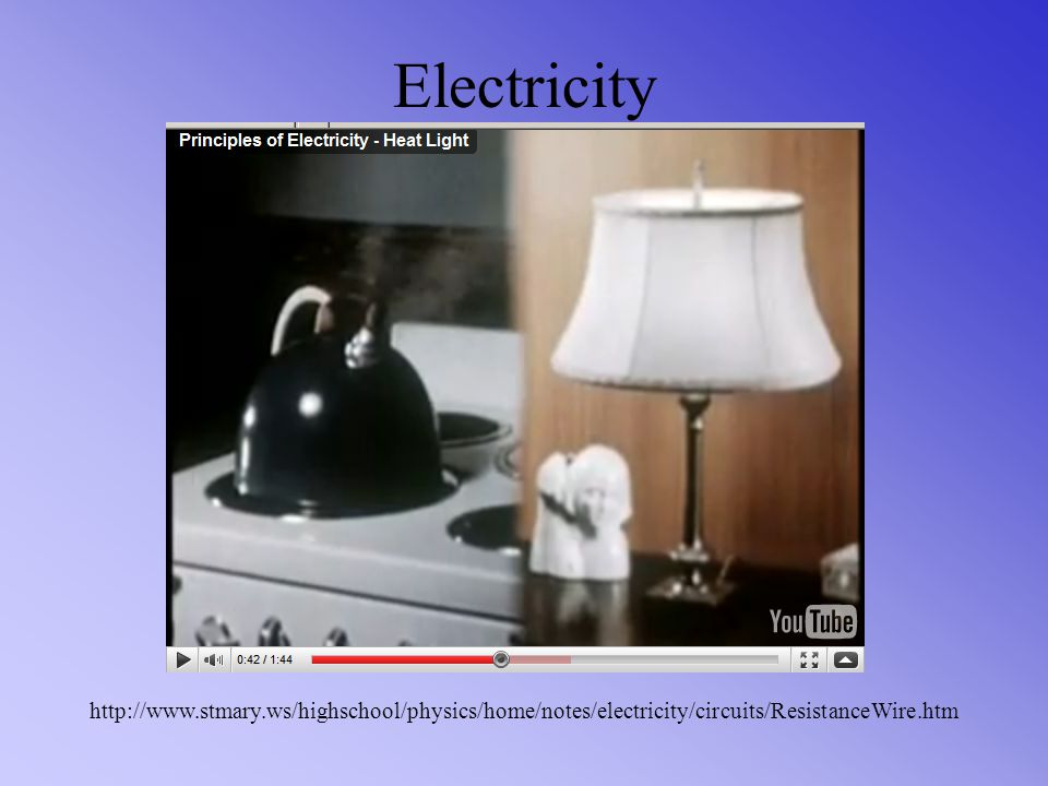 Electricity http://www.stmary.ws/highschool/physics/home/notes/electricity/circuits/ResistanceWire.htm.